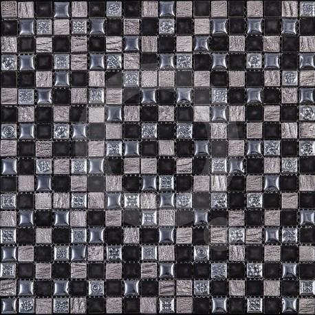Azul Imperium Trajano 30x30 Mosaico Piedra