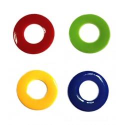 Optima Happy HAPPYBAL2 Pack anillas de colores 2 unidades