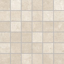 Atelier Cream 30x30 Mosaico Porcelánico Todo Masa