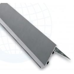 Euroshrink Eurovierteaguas Aluminio 278A Plata Mate 2,5m