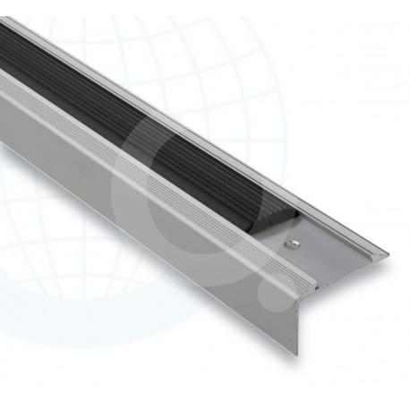 Euroshrink europelda o aluminio plata mate 231a 25x45mm for Carrelage yaiza