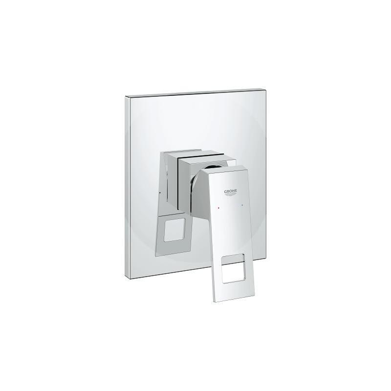 Eurocube monomando de ducha 1 2 grohe for Griferia de ducha grohe