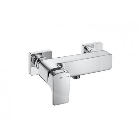 Mezclador monomando exterior para ducha roca l90 for Mezclador para ducha grival