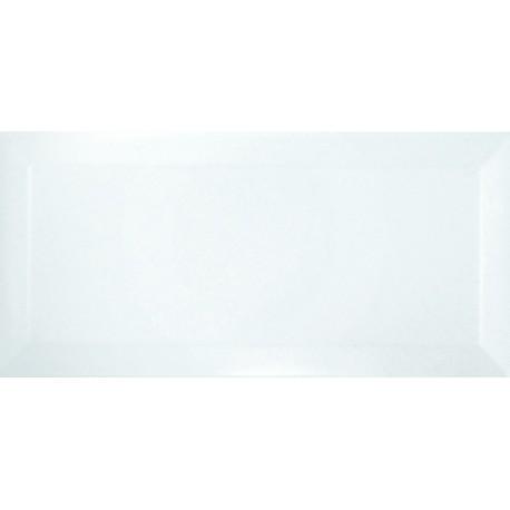 Bisel Blanco Brillo 10x20