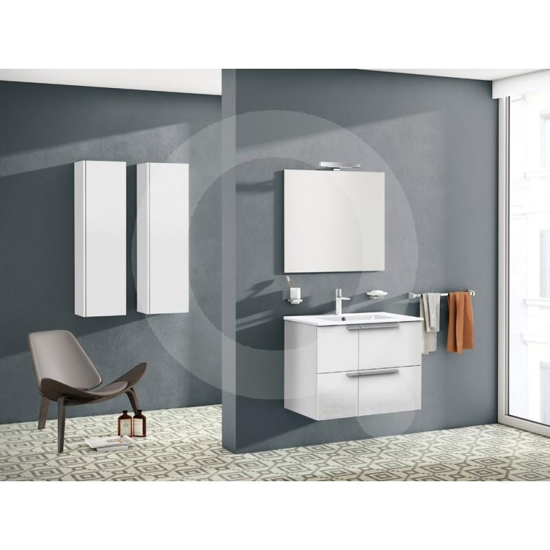 Mueble de ba o sonia barcelona 80cm blanco - Mueble bano barcelona ...