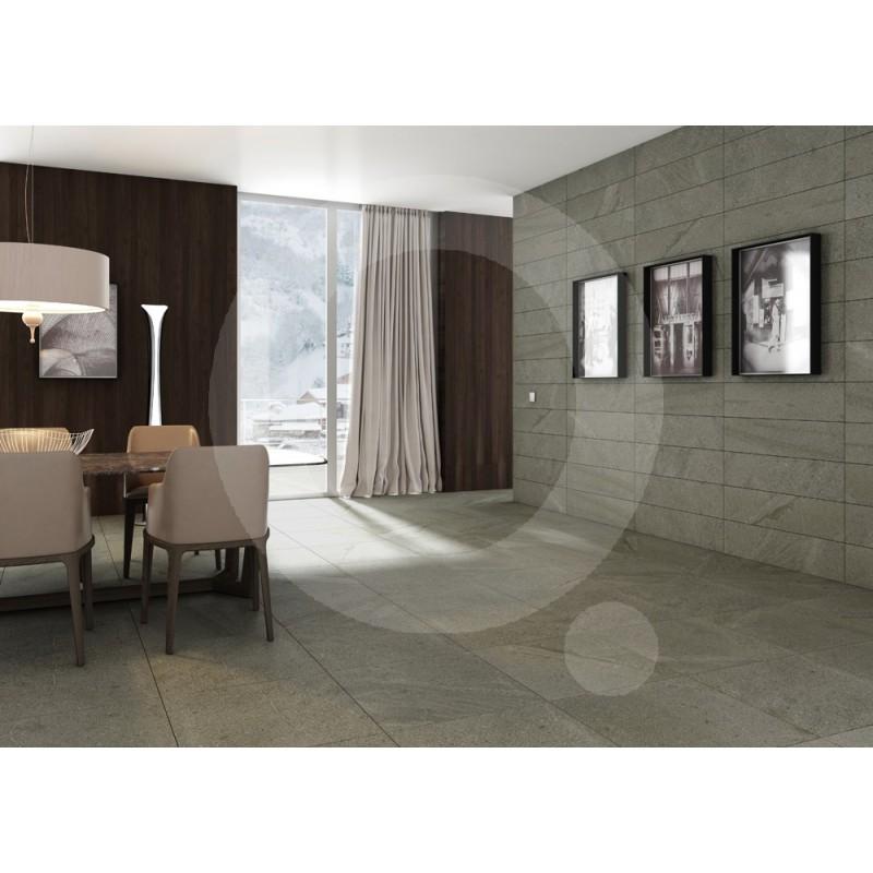 Gr s c rame tau totem gris rectifi for Miroir 45x90