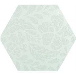 Florencia Puntos Plata 01 25,8x29 Porcelánico