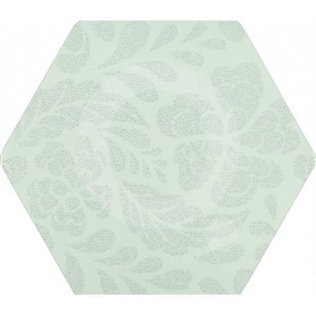 Florencia Puntos Plata 02 25,8x29 Porcelánico