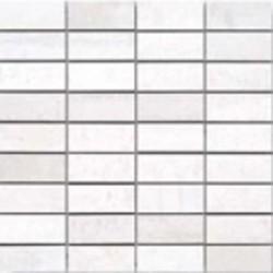 Corten Blanco Malla 30x30 (3x7) Porcelánico