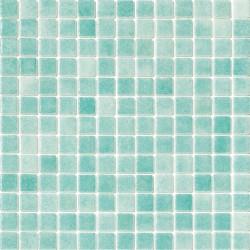 Niebla Verde Caribe 33x33 Mosaico Cristal