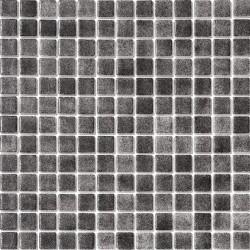 Niebla Negro Antideslizante 33x33 Mosaico Cristal