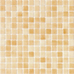 Niebla Marrón Claro Antideslizante 33x33 Mosaico Cristal