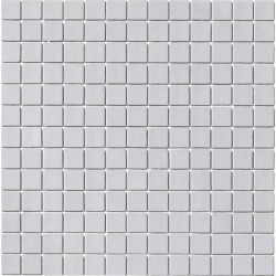 Matt Collection Gris Claro 33x33 Mosaico Cristal