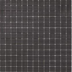 Matt Collection Negro 33x33 Mosaico Cristal