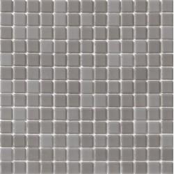 Liso Gris Claro 33x33 Mosaico Cristal