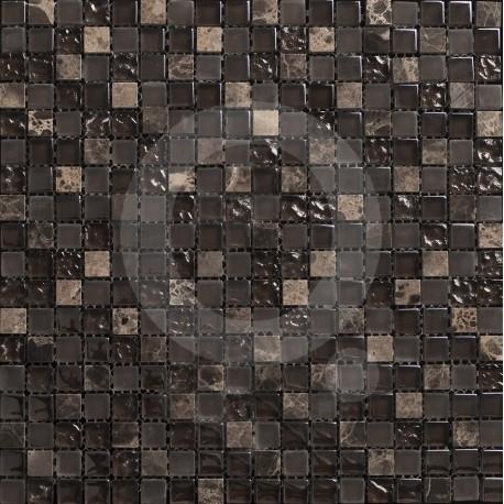 Queràmic Cosmos Marron 30x30 Malla