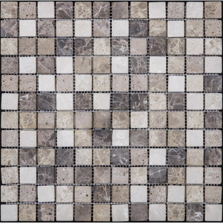 Azul Italia Venezia 30x30 Mosaico Piedra