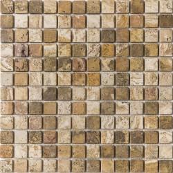 Azul Italia Arena Silica 30x30 Mosaico Piedra