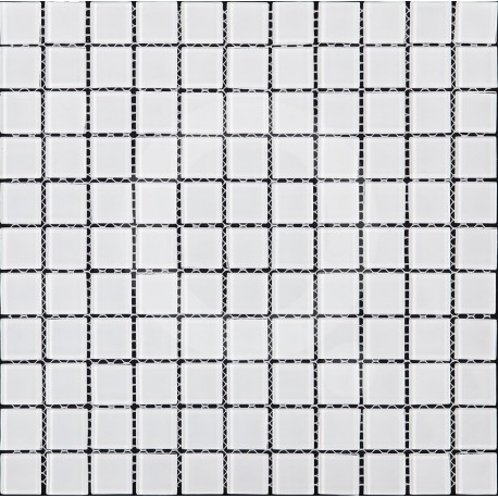 Queràmic MonoCouleur Blanc 30x30 Malla