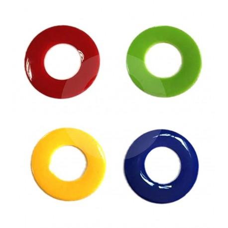 Optima Happy HAPPYBAL1 Pack anillas de colores 1 unidad