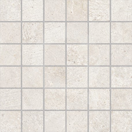 Karst White 30x30 (5x5) Mosaico Porcelánico