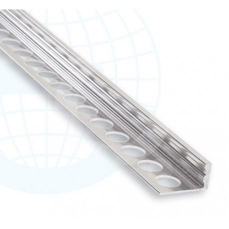 Eurolistelo Aluminium 183A Argent Lustré Euroshrink