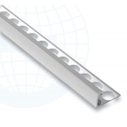 Euroshrink Eurolistelo Aluminium 230A Argent Lustré