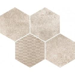Reden Ivory Mosaico Esagonale 30x37