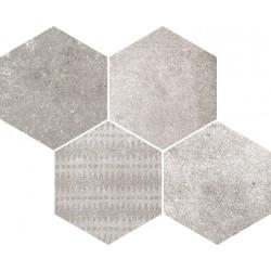 Reden Grey Mosaico Esagonale 30x37