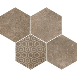 Reden Biscuit Mosaico Esagonale 30x37