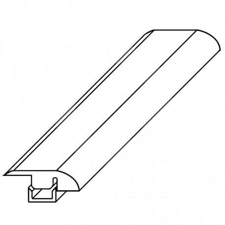 Rodapie Serie Tempo 240x7x1,5cm