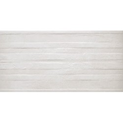 Clean White Rockwork 30x60 Porcelánico