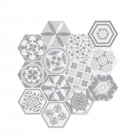 Madeira Decor White 17,5x17,5 Revestimiento