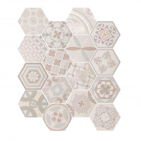 Madeira Decor Ivory 17,5x17,5 Revestimiento