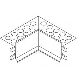 Euroshrink Eurovierteaguas Esquina Interior Aluminio I241A 2,5m