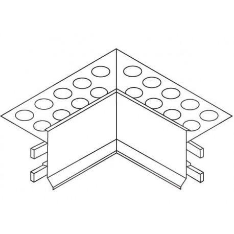 Euroshrink Eurovierteaguas Esquina Interior Aluminio Plata Mate I278A 2,5m