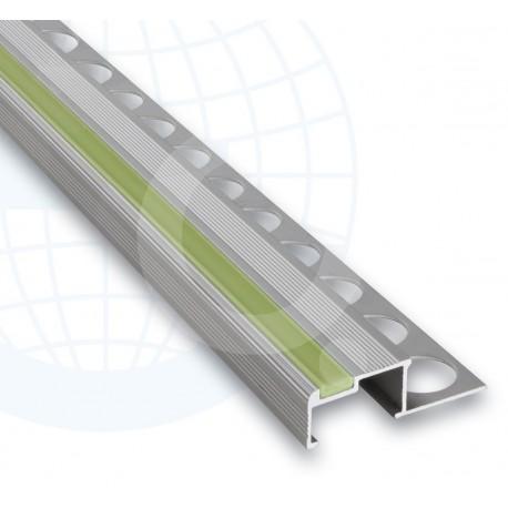 Euroshrink Europeldaño Aluminio Luminous Plata Mate 251A 10,5mm