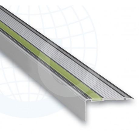 Euroshrink Europeldaño Aluminio Plata Mate 252A 22x45mm