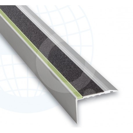 Euroshrink Europeldaño Aluminio Luminous Plata Mate 253A 30x68mm
