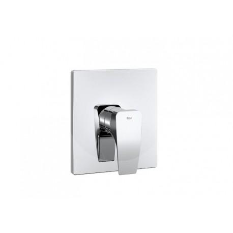 """Roca Thesis Mezclador monomando empotrable de 1/2"""" para baño o ducha."""