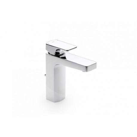 Roca L90 Mezclador monomando para lavabo con desagüe automático