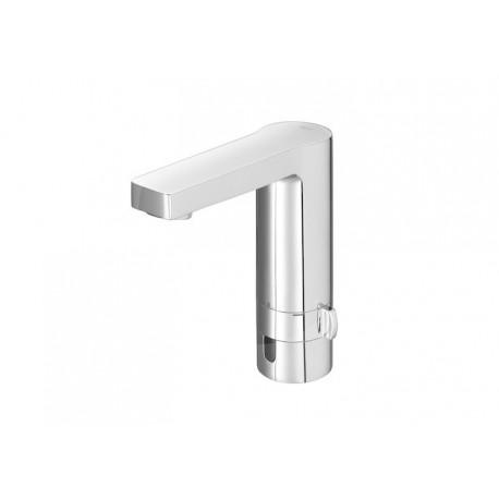 Roca L90 Mezclador electrónico para lavabo con limitador de caudal.