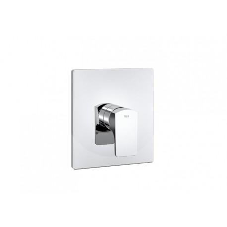 """Roca L90 Mezclador monomando empotrable de 1/2"""" para baño o ducha con inversor automático."""