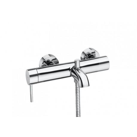 Roca Lanta Mezclador monomando exterior baño-ducha con inversor automático