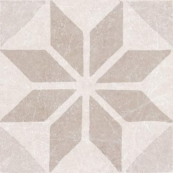 Materia Decor. Star Ivory 20x20