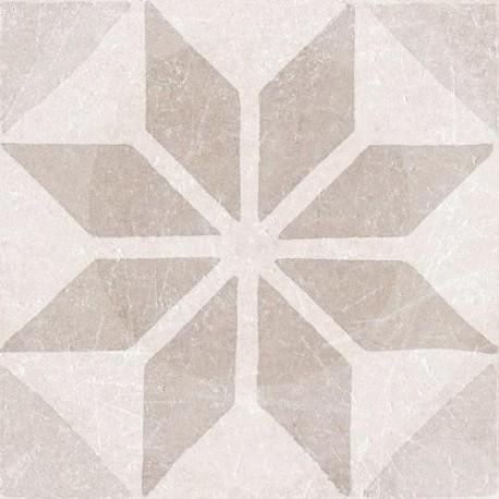 Materia Decor. Star Ivory 20x20