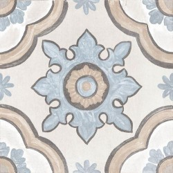 Cifre Adobe 20x20 Ivory Decor. Basma