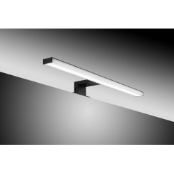 SDZ Quadrat Aplique LED ABS 45cm Cromo IP44 4,9W 6000K