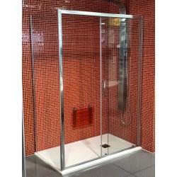 Anima Mampara Cristal Fijo de cierre para mampara Tex de 77 a 79 x195 cm