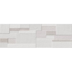 Evolution Relieve Cube White 30x90 rec